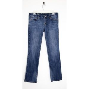 Lucky Brand Low Rise Straight Leg Jeans Size 8